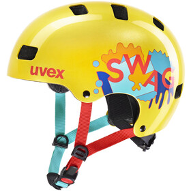 UVEX Kid 3 Helm Kinder yellow